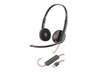 Plantronics Blackwire C3220 USB - 3200 Series - headset - på örat -  kabelansluten - USB 8e5cb9ef295c0